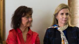 Marta Semelová (vlevo)